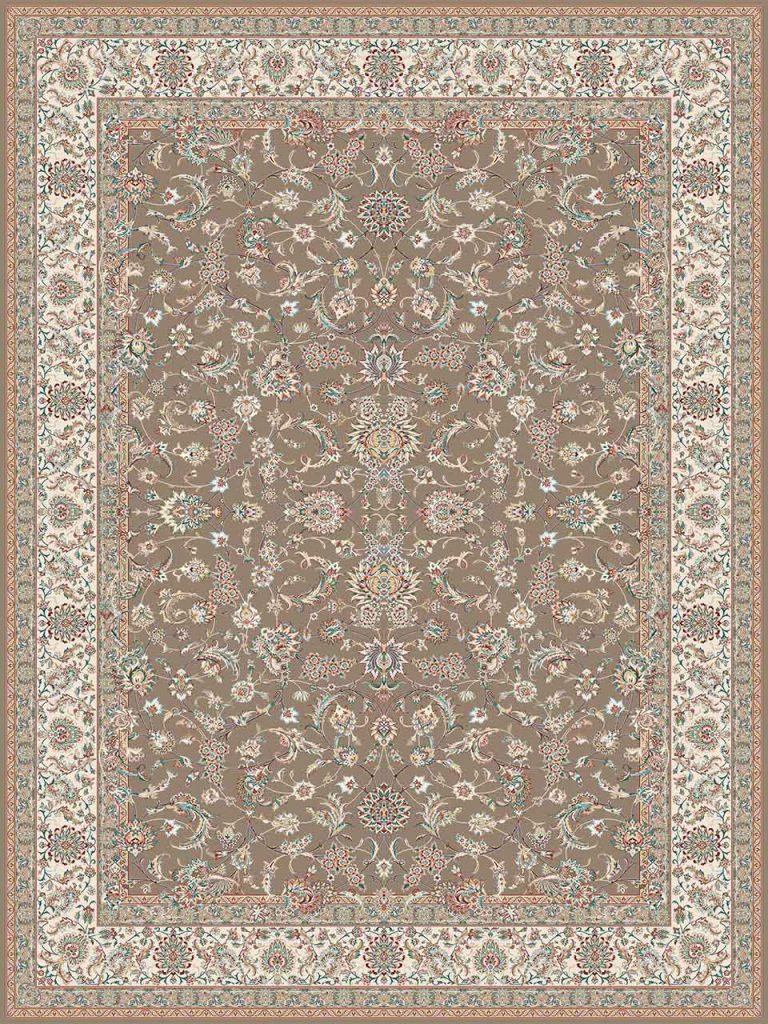 فرش (14009) اکریلیک - 8 رنگ - 700 شانه - گردويي - تراکم 2100